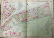 1911 Pittsburgh Pa East Liberty R.r. Station Penn To Frankstown Ave Atlas Map