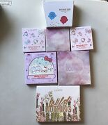 Colourpop Le Palettes Blush And Eye Shadow Lot Of 7 Includes Hello Kitty-auth.