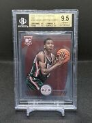 2013 Totally Certified Giannis Antetokounmpo Bgs 9.5 Pop 1 Rc Rookie Red /99