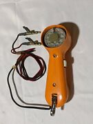 Orange Gte Automatic Electric Lineman Buttset Phone Rotary Dial Clips Vintage