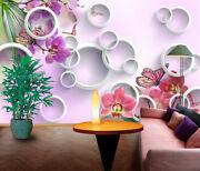 3d Butterfly Flower Kep1923 Wallpaper Mural Self-adhesive Removable Sticker Bea