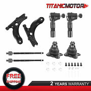 Front Lower Control Arm Ball Joint Assembly Kit For Vw Volkswagen Jetta Golf
