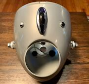 Sears Allstate Puch Twingle 250cc 1967-1969 Headlight W/ Switch And Lights Nos