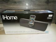 Ihome Ip36 Portable Speaker System For. Iphone Ipod Cd Mp3