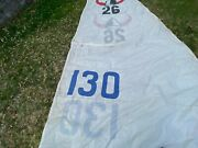 Main Sail Ericson 26 Good Condition. Bolt Rope. Leach Lines. 2 Reef Points