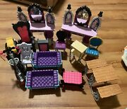 Monster High Doll Lot Of Furniture Used
