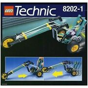 Lego Technic Sets 8202-1 And 8202-2 Bungee Chopper In Excellent Condition