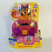 Little Live Pets Omg Pets Have Talent Stage Star Puppy Playset Singing Music