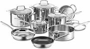 Cuisinart Professional Series 13-piece Stainless Steel Cookware Sets