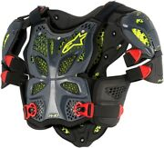 Alpinestars Adult Motorcycle A 10 Ce Chest Protector Black Xs-2xl