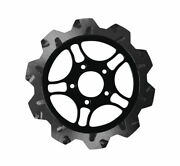 Lyndall Racing Brake Rotors 11.5 In. Chrome Front 527-0215