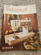 Singer Golden Touch And Sew Ii 770 Instruction Manual