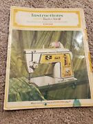 Singer Golden Touch And Sew Model 630 Instruction Manual