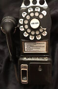 Vintage Jim Beam Telephone Decanter 3 Coin Slot Dial Pay Telephone Empty