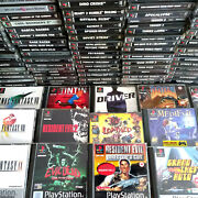 Ps1 Games Resident Evil Final Fantasy Grand Theft Auto Loaded Playstation 1