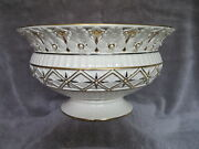 Lenox Florentine And Pearl Size 11x6 Large Centerpiece Bowl, Pre-owned