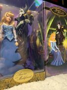 Aurora And Maleficent Disney Fairytale Designer Collection Limited Edition New
