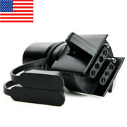 For Rv Trailer Plug Adapter Car Accessories 2 In1 Power Socket 7p To 4p 7p To 5p