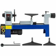 Benchtop Mini Wood Lathes Machines 500-3200rpm Variable Speed Low Noise Designed