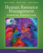 Human Resource Management Essential Perspectives By Jackson John H. Valentin