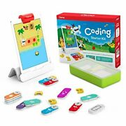 Osmo 1 - Coding Starter Kit For Ipad - 3 Hands-on Learning Games - Ages 5-10+ -