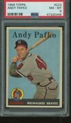 1958 Pafko 223 Psa 8 Just Graded Centered