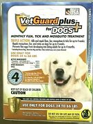 4 Months Flea Andtick Control Drops For Large Dogs 34-66 Lbs Vetguard Plus Best