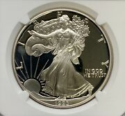 1993-p American Silver Eagle 1 Proof Pf 69 Ultra Cameo Ngc
