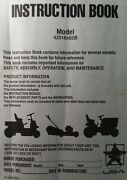 Murray Lawn Mower Tractor 42516x92b Owner And Parts And Briggs Engine Op 2 Manual S