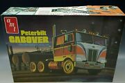 Amt Peterbilt Cabover Pacemaker 352 Tractor Model Kit 1/25 Scale Vintage Mib