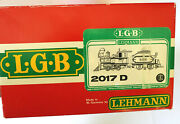 Lgb 2017d Engine And Tender G Scale Locomotive ●●●box Only●●●