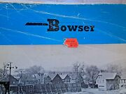 Bowser Ho Reference Manual 1987 11edition Engines Parts Box And All Of It