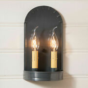 Primitive/ Country Farmhouse Colonial Arch Sconce Country Tin Free Shipping