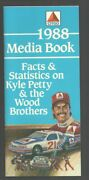 Kyle Petty-wood Brothers-nascar Media Guide 1990-facts, Stats And Photos-21 ...