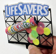 3d Lifesavers Candies Billboard Animated Sign-o-scale Or Large Ho-scale -super