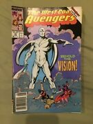 West Coast Avengers 45 White Vision Avengers Issues 42-5254-57