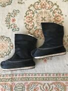 Fine And Rare Official Chinese/manchu Men's Court Boots Stamped Inside Antique