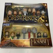 The Hobbit And The Lord Of The Rings Pez Collector's Series Limited Brand New