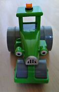 Bob The Builder Roley The Steamroller Friction Toy Vehicle Charactor Tractor