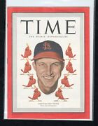 1949 Time Magazine Stan Musial Cover St Louis Cardnals Mint Finest Copy On Earth
