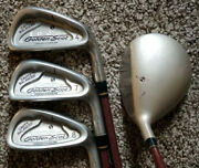 Tommy Armour 855s Golden Scot 4-7-8 Irons, 3 Wood Hot Scot Graphite Rh + Balls