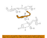 Toyota Oem 03-04 Tundra 4.7l-v8 Exhaust System-front Pipe 174500f040