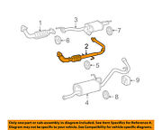 Toyota Oem 05-06 Tundra 4.7l-v8 Exhaust System-front Pipe 174500f080