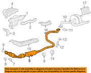 Toyota Oem 2018 Yaris 1.5l-l4 Exhaust System-front Pipe 174100m280