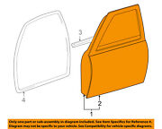 Toyota Oem 95-04 Tacoma Front Door-shell Frame Panel Right 6700104130