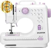 Kylinton Portable Sewing Machine For Beginners, Small Mini Sewing Machine For Ki