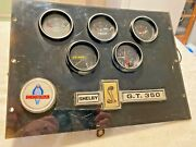 Vintage 60and039s/70and039s Mustang/ford/mercury Dash Gages Could Fit Any Car When Removed