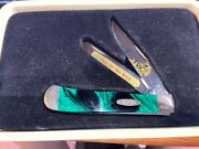 Limited Edition Handcrafted Usa Case Knife With Custom Case