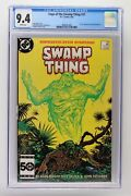 Saga Of The Swamp Thing 37 - Dc 1985 Cgc 9.4 1st Appearance Of John Constantine