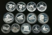 Lot Of 13 Commemoratives Silver Dollars And Clad Half Dollars    V